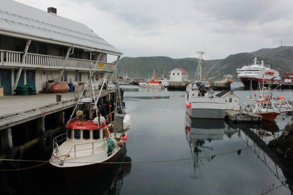 Hafen Lofoten Norwegen