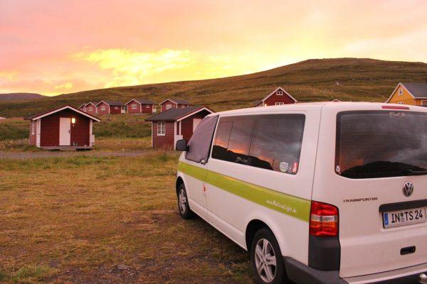 Nördlichster-Campingplatz-der-Welt Norwegen Nordkapp