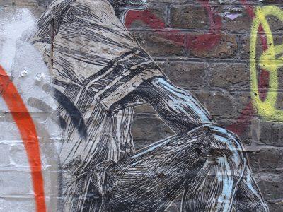 Graffiti Shoreditch London Stencil Streetart