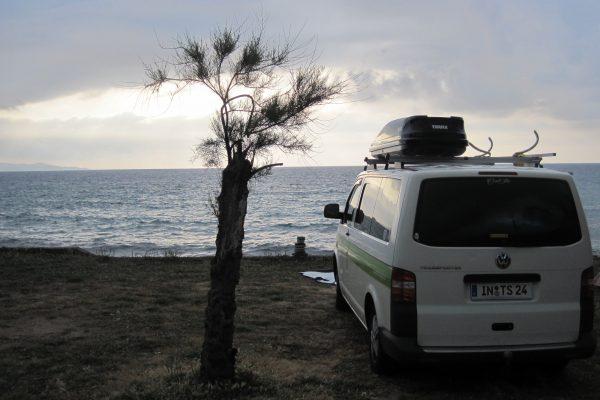 Campervan Camping the-euroamers Korsika