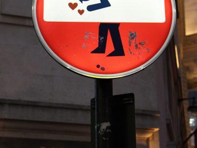 Graffiti Shoreditch London Clet Streetart