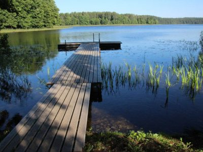 Badesteg-am-See Baltikum