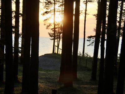 Sonnenuntergang Baltikum
