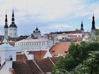 Stadtmauer-Tallin Estland Baltikum