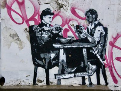 Graffiti Streetart Stencil Baltikum