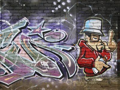 Graffiti Streetart oldschool Baltikum