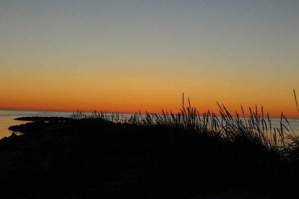 Sonnenuntergang in Norwegen Vesteralen