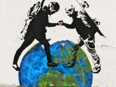 Streetart Lofoten Stencil