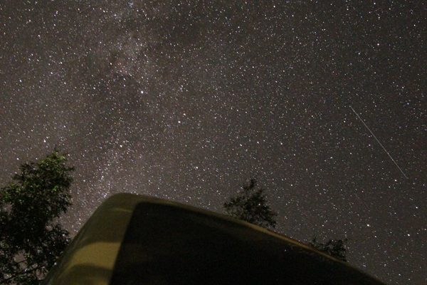 Sternenhimmel Milchstraße Baltikum