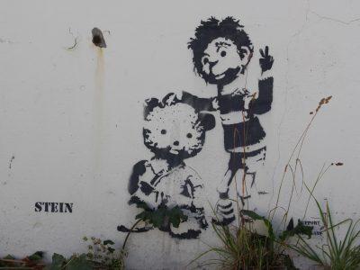 Streetart Graffiti Norwegen Norway Stein