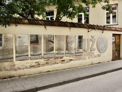 Užupis Vilnius Litauen