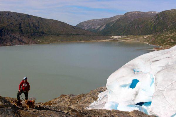 Svartisen Gletscher Norwegen Skandinavien