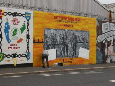 Murals Belfast Nordirland Northern Ireland