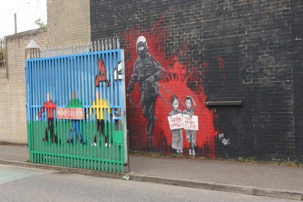 Murals Nordirland politische-Wandmalerei