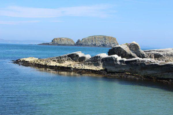 Küste Nordirland Eiseninsel