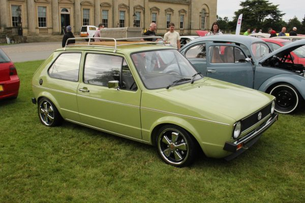 Volks-World-Show-Esher Großbritannien VW Golf 1