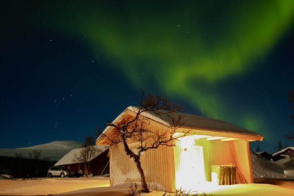 Nordlicht Polarlicht Wintercamping Schweden Schwedisch-Lappland the-euroamers