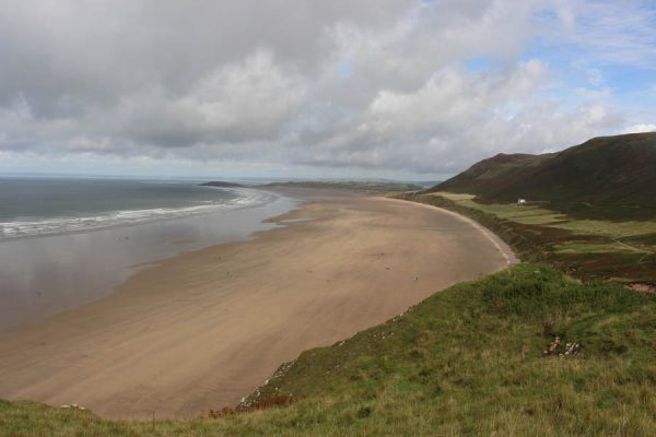 Strand Küste Wales