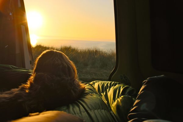 Morgenstimmung Sonnenaufgang Vanlife Campervan Schottland