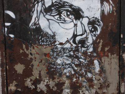 Streetart Graffiti Stencil Oslo Norwegen C215