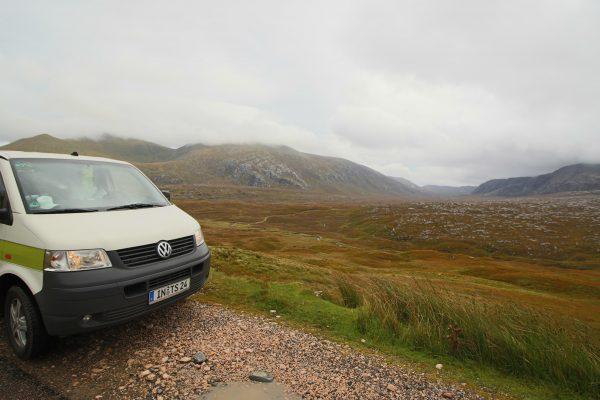 Highlands Schottland Campervan Roadtrip Vanlife the-euroamers