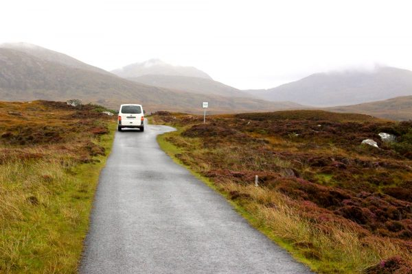 Singletrack-Road Schottland