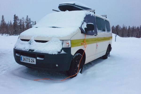 Winterroadtrip Winter Minusgrade Wintercamping Lappland-im-Winter