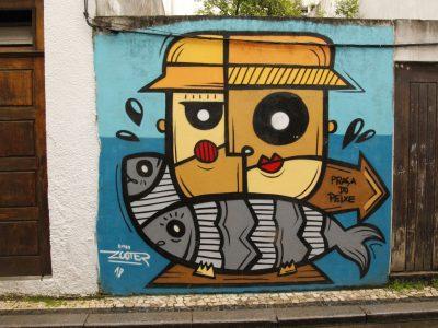 Streetart Graffiti Peixe Portugal