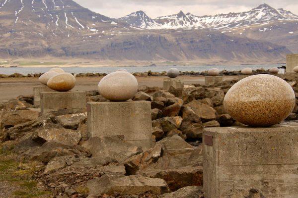 Island Eier-Skulptur Sigurður-Guðmundsson