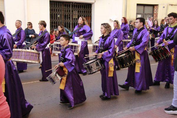 Trommel-Parade Andalusien Ostern Karwoche