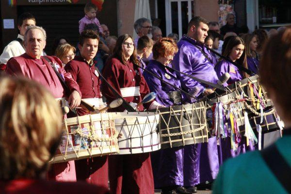 Trommel-Parade Andalusien Ostern Karwoche Semana-Santa