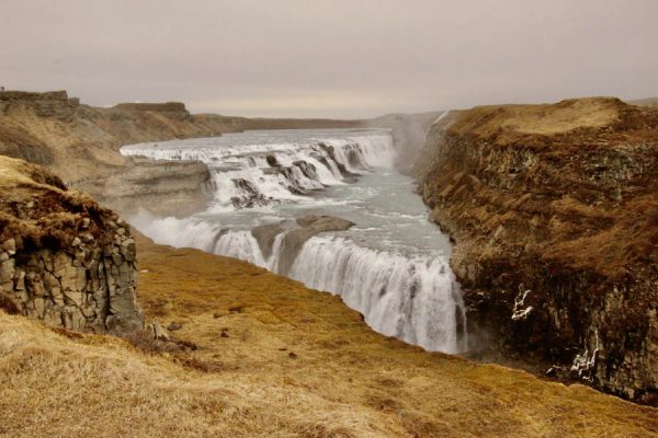 Gullfoss-Wasserfall Island