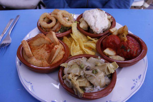 Tapas Andalusien