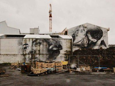 Streetart Graffiti Island