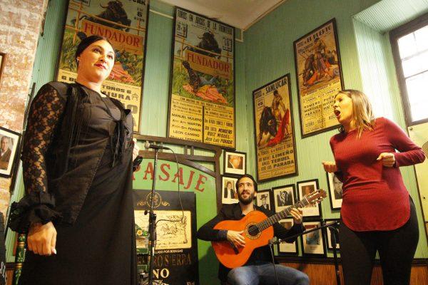 Flamenco-Bar Andalusien