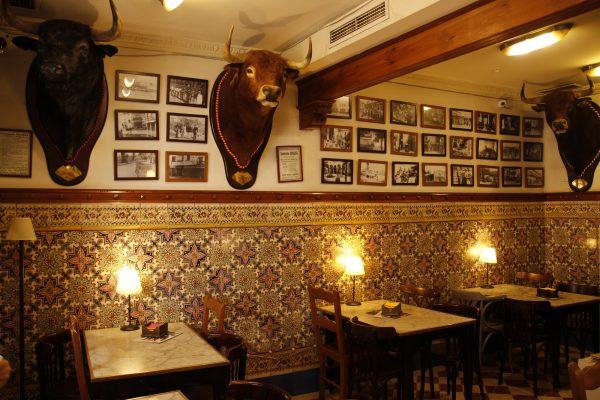 Stierkämpfer-Kneipe Andalusien