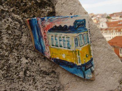 Streetart Lissabon Portugal
