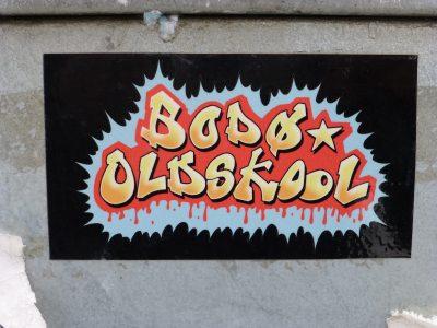 Streetart Sticker Norwegen