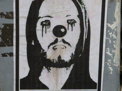 Streetart Sticker Norwegen Stein
