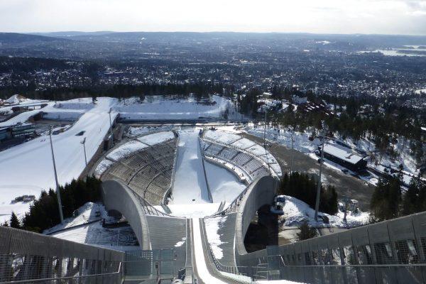 Holmenkollen-Skisprungschanze-Oslo
