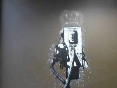Streetart Graffiti Stencil Norwegen