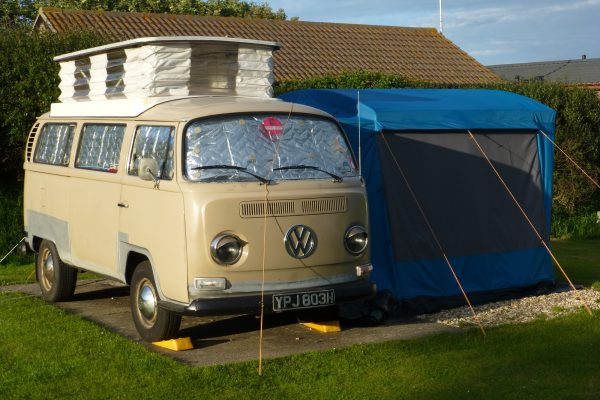 Bulli T2 Campervan Camping Cornwall