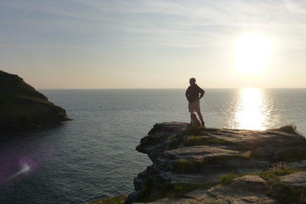Sonnenuntergang Küste Coast Cornwall