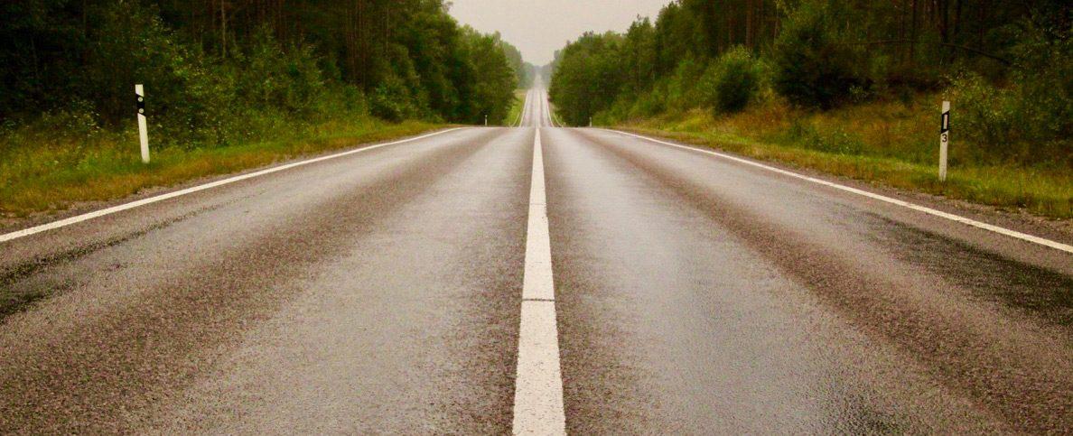 Roadtrip lange-Straße Baltikum the-euroamers